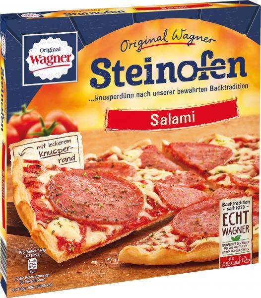 original wagner steinofen pizza salami online kaufen bei. Black Bedroom Furniture Sets. Home Design Ideas