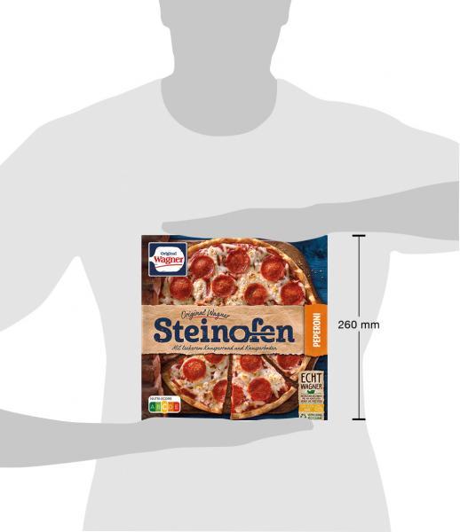 Original Wagner Steinofen Pizza Peperoni