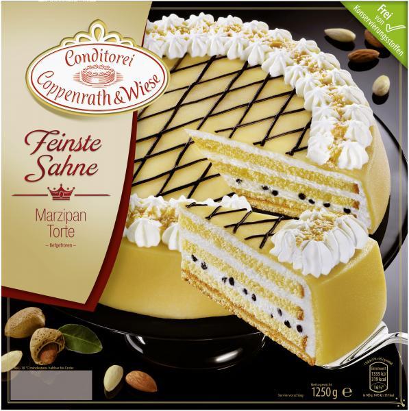 Coppenrath & Wiese Feinste Sahne Marzipan-Torte