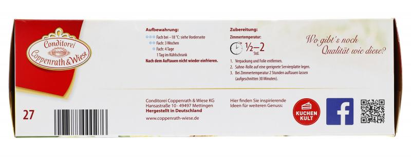 Coppenrath & Wiese Sahne-Rolle Zitrone