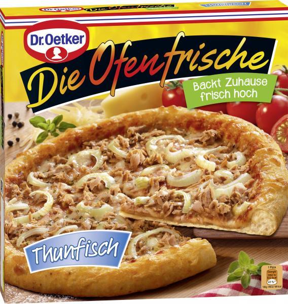 Dr. Oetker Die Ofenfrische Pizza Thunfisch