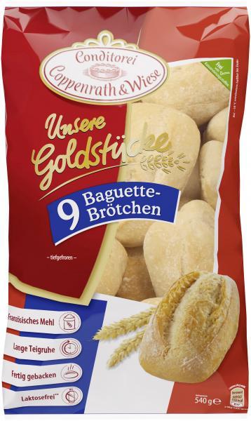 Coppenrath & Wiese Unsere Goldstücke Baguettebrötchen