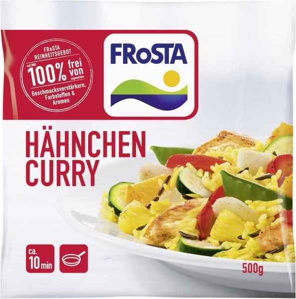 Frosta Hähnchen Curry