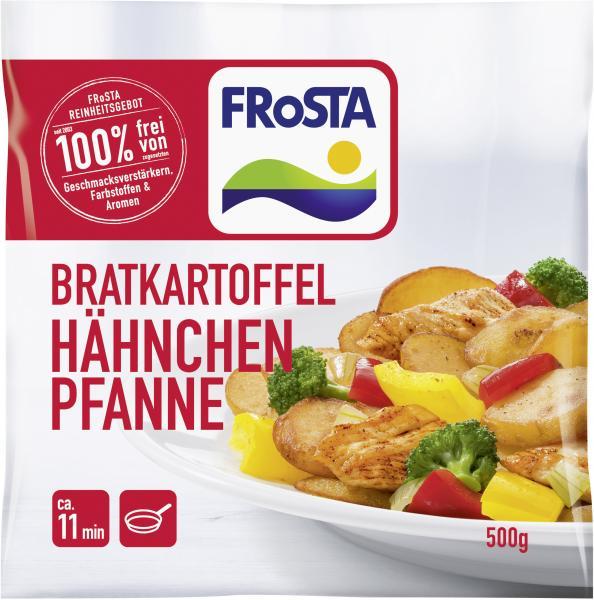 Frosta Bratkartoffel Hähnchen Pfanne