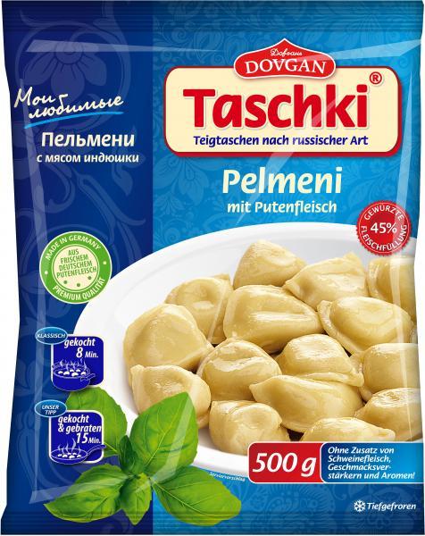 Dovgan Taschki Pelmeni mit Putenfleisch