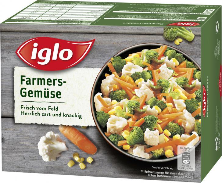 Iglo Frisch vom Feld Farmers Gemüse
