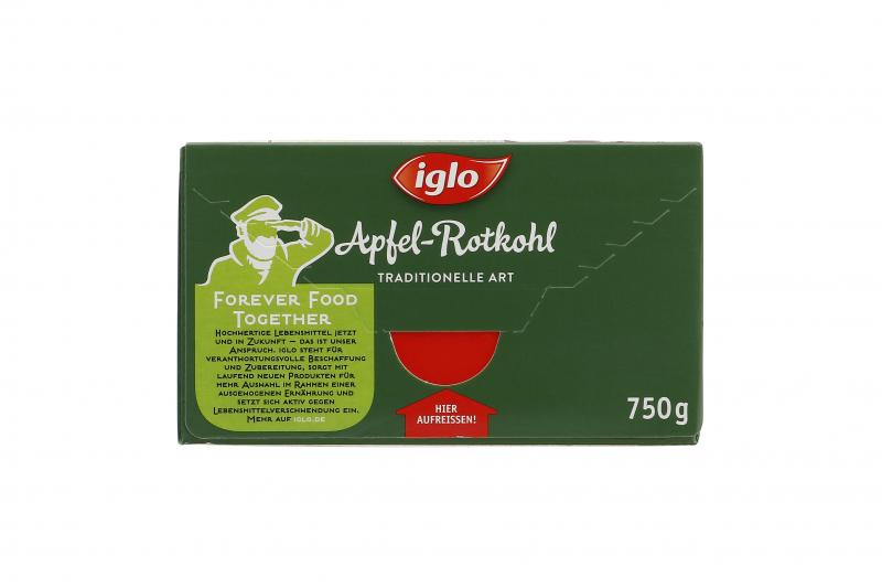 Iglo Apfel-Rotkohl traditionelle Art