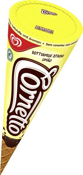 Cornetto Bottermelk Zitrone