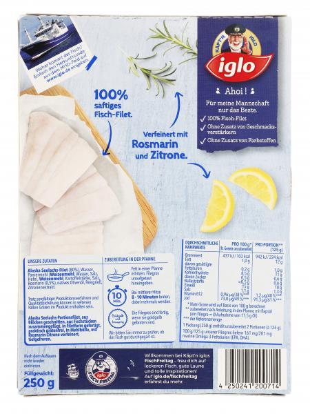 Iglo Filegro Rosmarin-Zitrone
