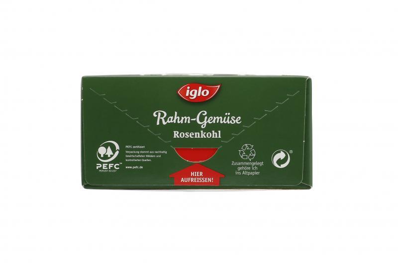 Iglo Rahm-Gemüse Rosenkohl