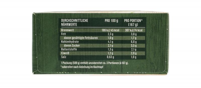 Iglo Rahm-Gemüse Kohlrabi