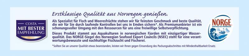 Costa Fjord Lachsforellenfilets