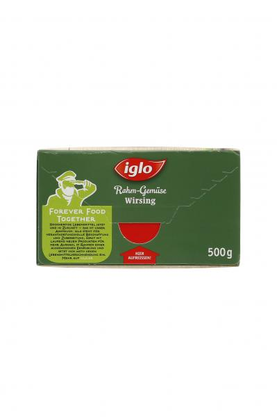 Iglo Rahm-Gemüse Wirsing