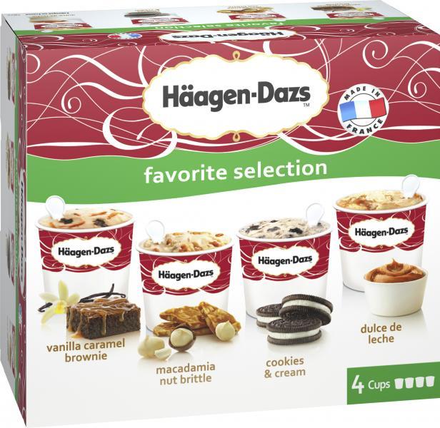 Häagen-Dazs Eiscreme Favorite Selection