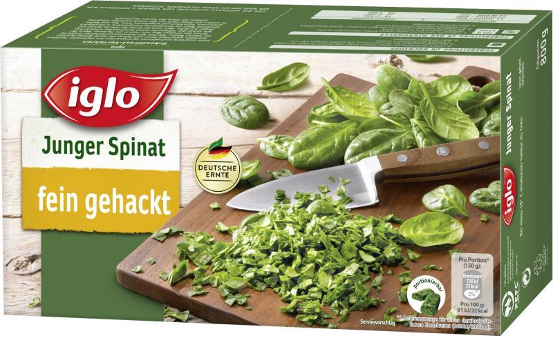 Iglo Junger Spinat fein gehackt
