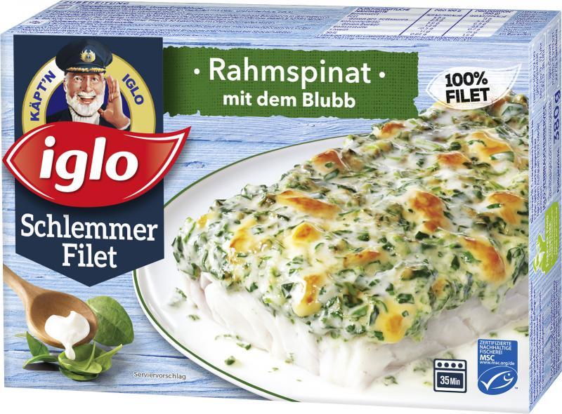 Iglo Schlemmer Filet Rahmspinat