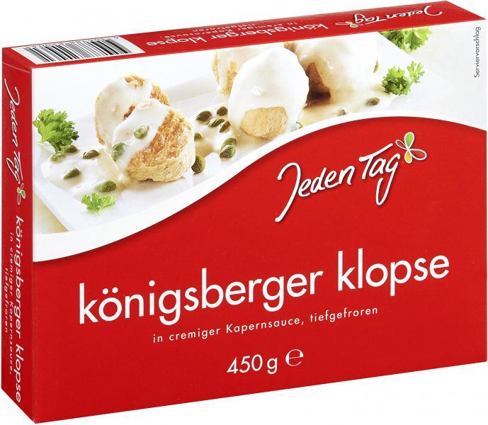 Jeden Tag Königsberger Klopse