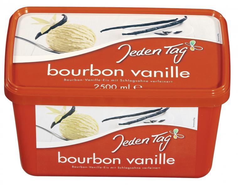 Jeden Tag Eis Bourbon Vanille