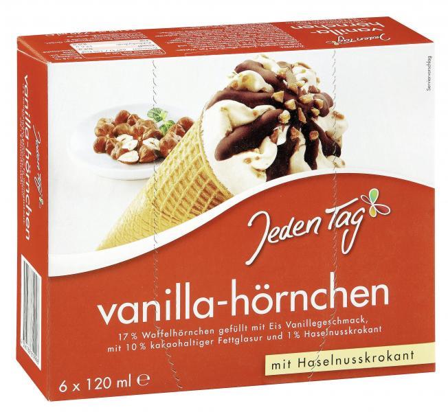 Jeden Tag Vanilla-Hörnchen