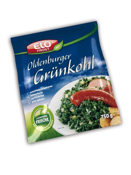 Elo Frost Oldenburger Grünkohl grob gehackt