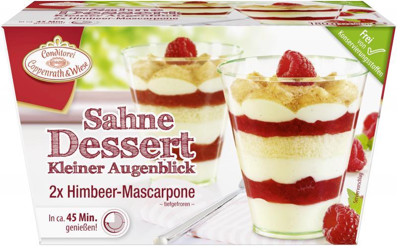 Coppenrath & Wiese Kleiner Augenblick Himbeer-Mascarpone