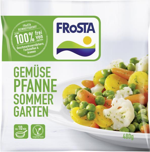 Frosta Gemüse Pfanne Sommergarten