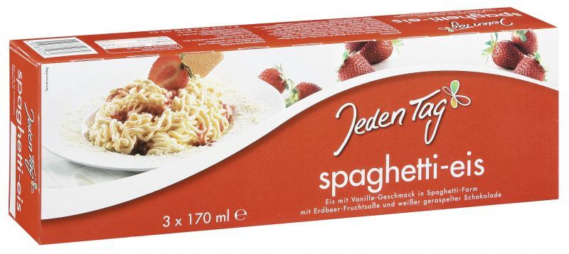 Jeden Tag Spaghetti-Eis