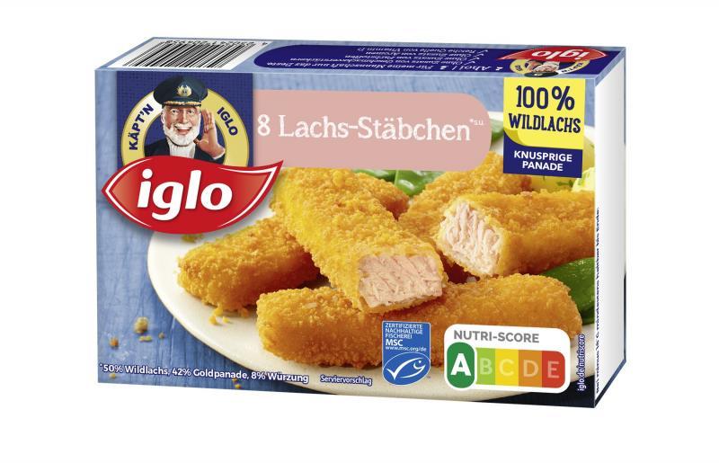 Iglo Lachsstäbchen