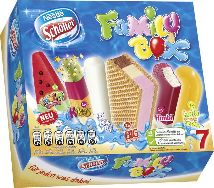 Nestlé Schöller Family Box