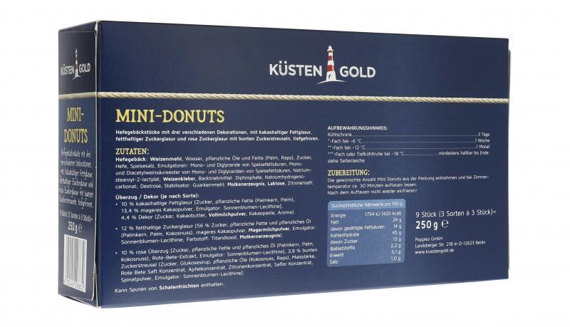 Küstengold Donuts mini
