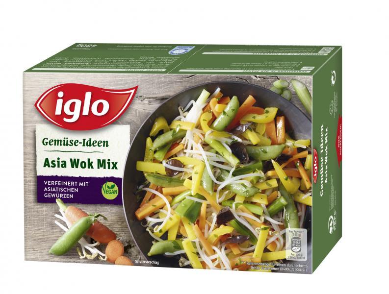 Iglo Gemüse-Ideen Asia Wok Mix