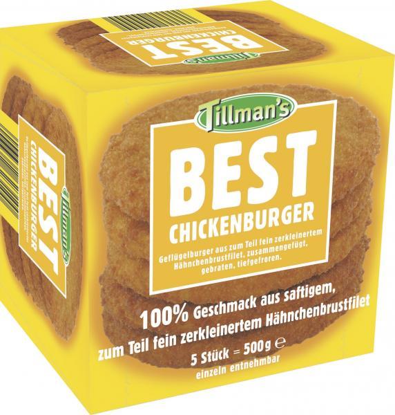 Tillman's Best Chickenburger