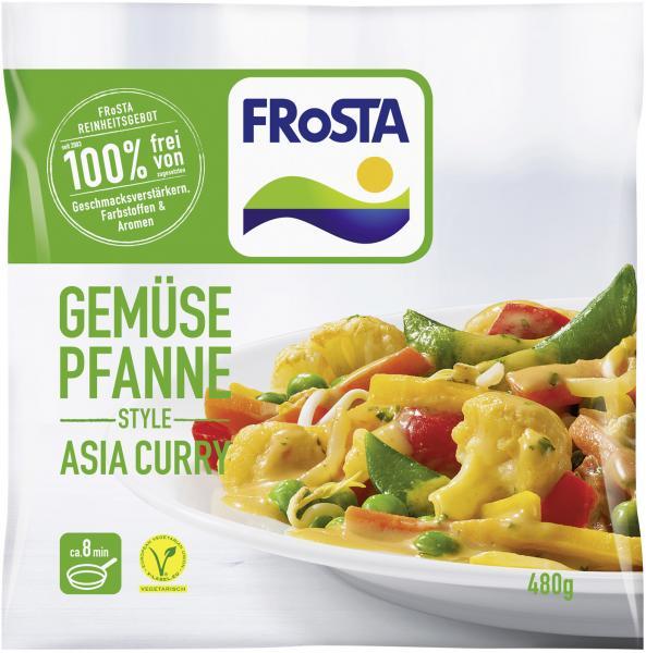 Frosta Gemüse Pfanne Style Asia Curry
