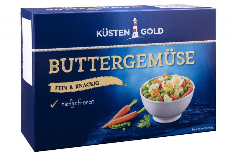 Küstengold Buttergemüse fein & knackig