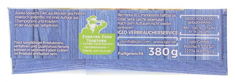 Iglo Schlemmer Filet Champignon