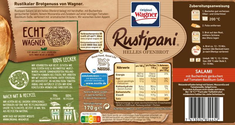 Original Wagner Rustipani Salami