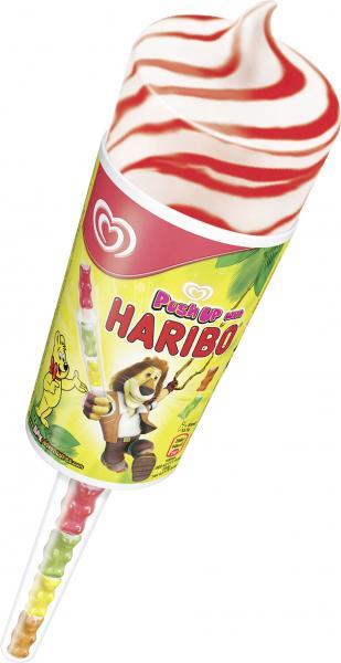 Langnese Push Up with Haribo