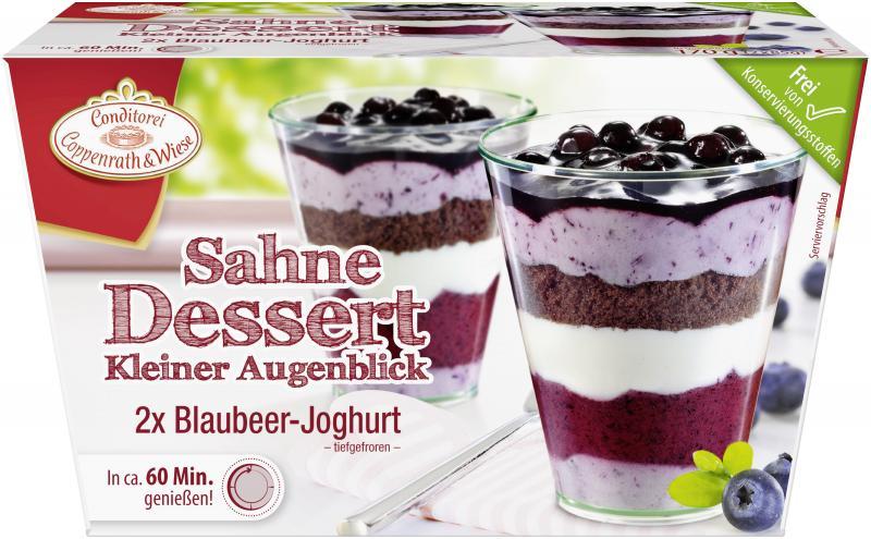 Coppenrath & Wiese Kleiner Augenblick Blaubeer-Joghurt