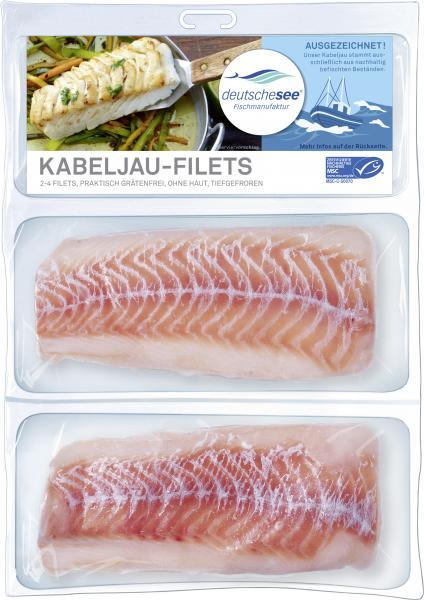 Deutsche See Kabeljau-Filets