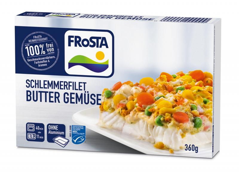 Frosta Schlemmerfilet Buttergemüse
