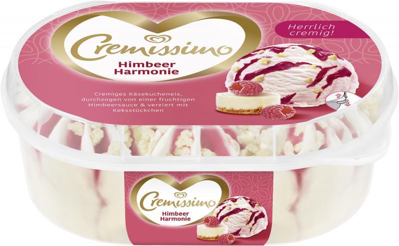 Cremissimo Himbeer Harmonie Eis