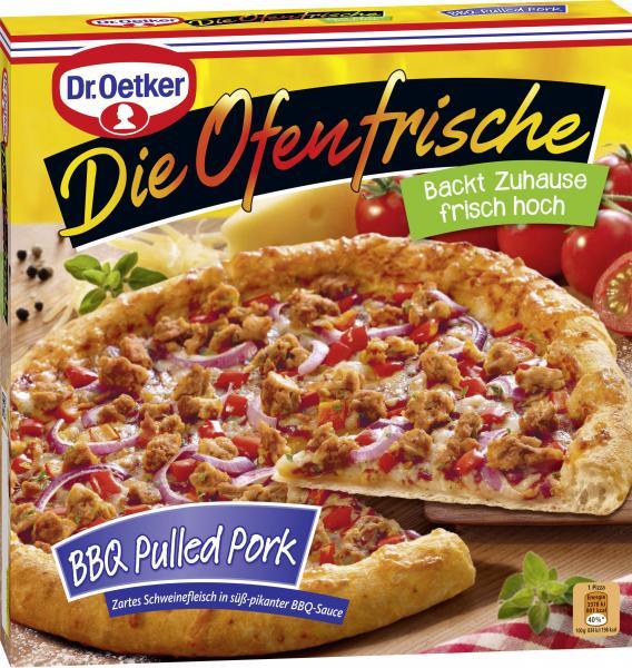 Dr. Oetker Die Ofenfrische Pizza Pulled Pork