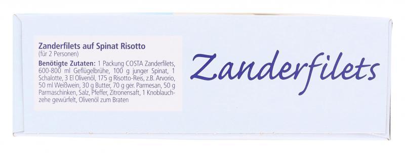 Costa Zander Filets