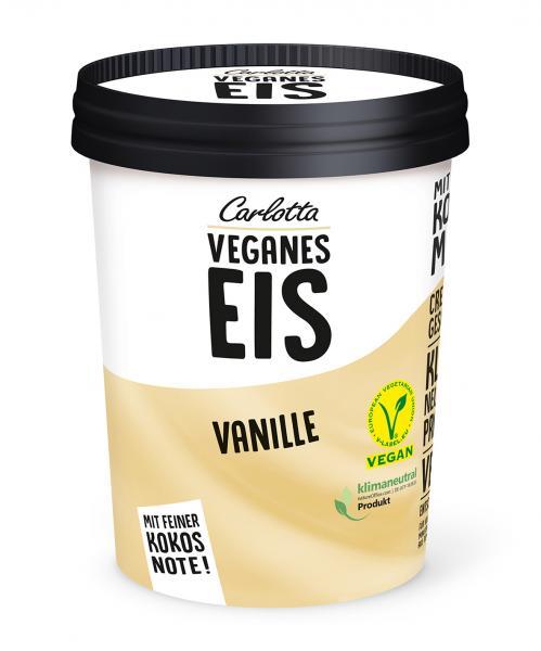 Carlotta Veganes Eis Vanille