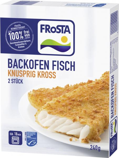 Frosta Backofen Fisch Knusprig Kross