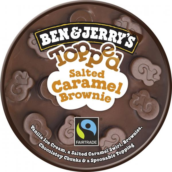 Ben & Jerry's Topped Salted Caramel Brownie