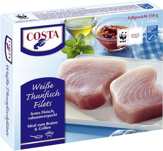 Costa Weiße Thunfischfilets