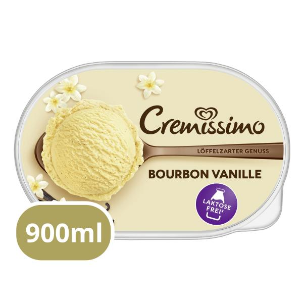 Cremissimo Bourbon Vanille Laktosefrei
