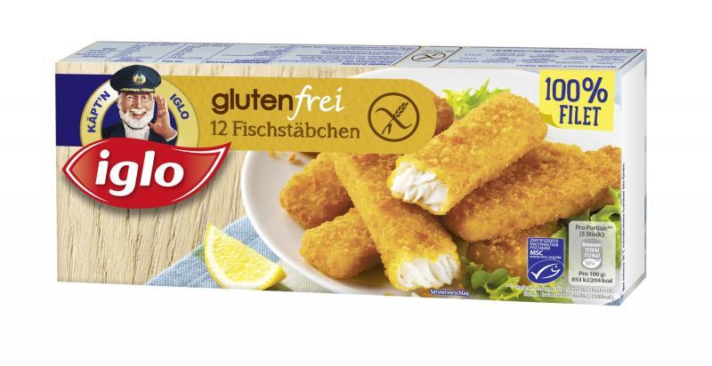 Iglo MSC Fischstäbchen glutenfrei