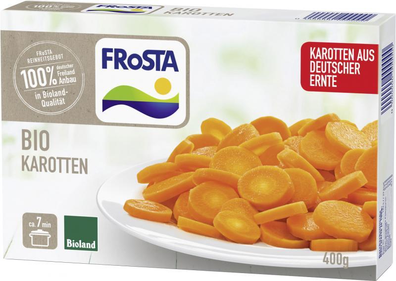 Frosta Bio Karotten